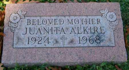 ALKIRE, JUANITA - Stark County, Ohio | JUANITA ALKIRE - Ohio Gravestone Photos