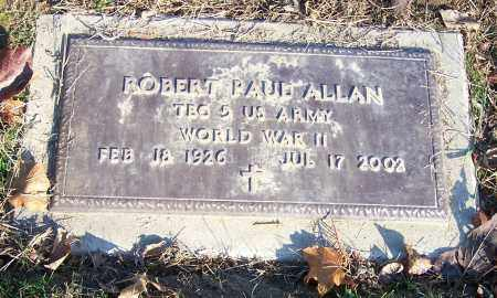 ALLAN, ROBERT PAUL  (MIL) - Stark County, Ohio | ROBERT PAUL  (MIL) ALLAN - Ohio Gravestone Photos