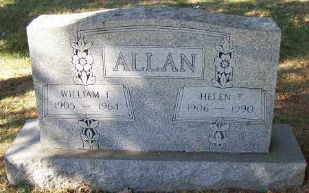 ALLAN, WILLIAM E. - Stark County, Ohio | WILLIAM E. ALLAN - Ohio Gravestone Photos