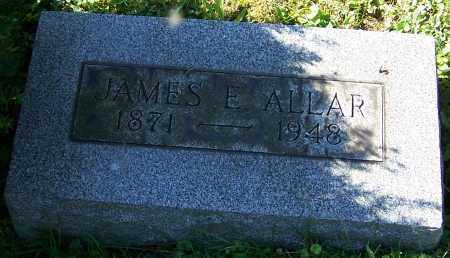 ALLAR, JAMES E. - Stark County, Ohio | JAMES E. ALLAR - Ohio Gravestone Photos