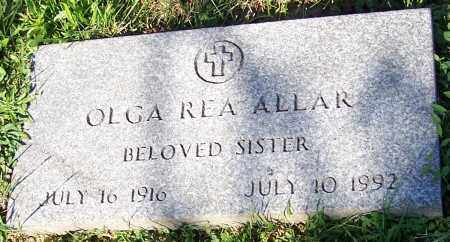 ALLAR, OLGA REA - Stark County, Ohio | OLGA REA ALLAR - Ohio Gravestone Photos