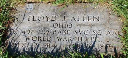 ALLEN, FLOYD J. - Stark County, Ohio | FLOYD J. ALLEN - Ohio Gravestone Photos