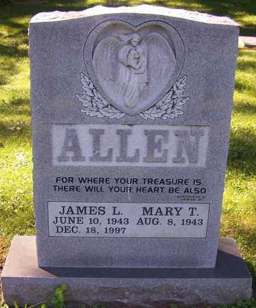 ALLEN, JAMES L. - Stark County, Ohio | JAMES L. ALLEN - Ohio Gravestone Photos