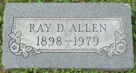 ALLEN, RAY D. - Stark County, Ohio | RAY D. ALLEN - Ohio Gravestone Photos