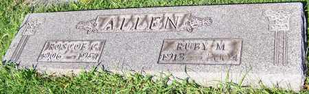 ALLEN, RUBY M. - Stark County, Ohio | RUBY M. ALLEN - Ohio Gravestone Photos