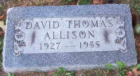 ALLISON, DAVID THOMAS - Stark County, Ohio | DAVID THOMAS ALLISON - Ohio Gravestone Photos