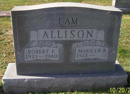 ALLISON, ROBERT E. - Stark County, Ohio | ROBERT E. ALLISON - Ohio Gravestone Photos
