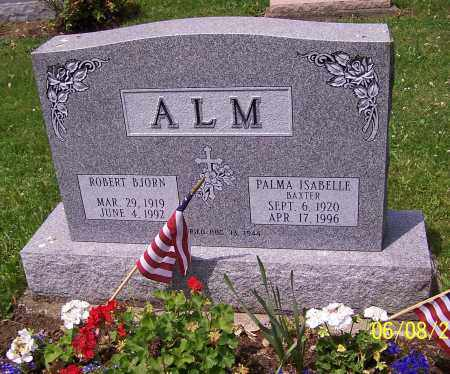 ALM, ROBERT BJORN - Stark County, Ohio | ROBERT BJORN ALM - Ohio Gravestone Photos