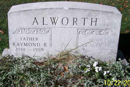 ALWORTH, CARRIE M. - Stark County, Ohio | CARRIE M. ALWORTH - Ohio Gravestone Photos