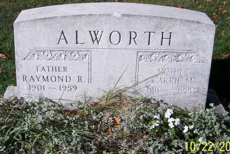 ALWORTH, RAYMOND R. - Stark County, Ohio | RAYMOND R. ALWORTH - Ohio Gravestone Photos