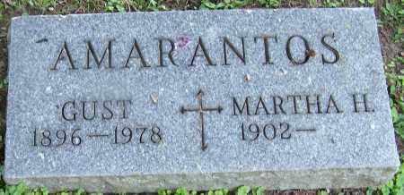 AMARANTOS, GUST - Stark County, Ohio | GUST AMARANTOS - Ohio Gravestone Photos