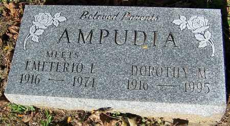 AMPUDIA, DOROTHY M. - Stark County, Ohio | DOROTHY M. AMPUDIA - Ohio Gravestone Photos