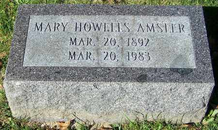 AMSLER, MARY HOWELLS - Stark County, Ohio | MARY HOWELLS AMSLER - Ohio Gravestone Photos