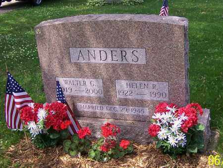 ANDERS, WALTER G. - Stark County, Ohio | WALTER G. ANDERS - Ohio Gravestone Photos