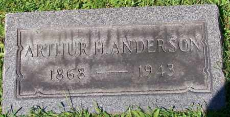 ANDERSON, ARTHUR H. - Stark County, Ohio | ARTHUR H. ANDERSON - Ohio Gravestone Photos