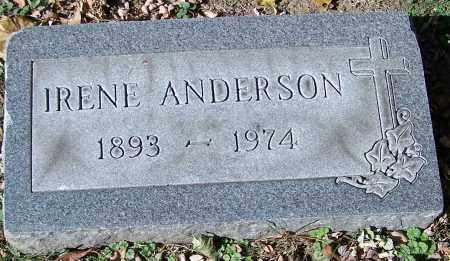 ANDERSON, IRENE - Stark County, Ohio | IRENE ANDERSON - Ohio Gravestone Photos