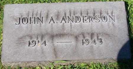 ANDERSON, JOHN A. - Stark County, Ohio | JOHN A. ANDERSON - Ohio Gravestone Photos