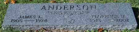 ANDERSON, JAMES L. - Stark County, Ohio | JAMES L. ANDERSON - Ohio Gravestone Photos