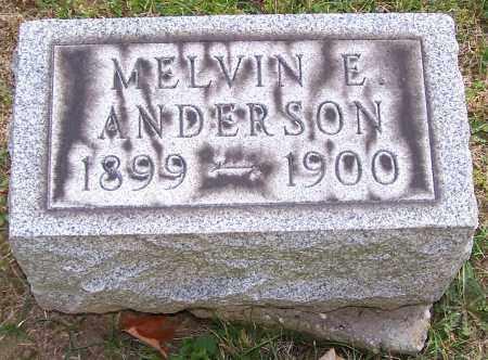 ANDERSON, MELVIN E. - Stark County, Ohio | MELVIN E. ANDERSON - Ohio Gravestone Photos