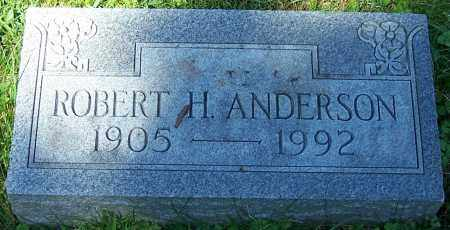 ANDERSON, ROBERT H. - Stark County, Ohio | ROBERT H. ANDERSON - Ohio Gravestone Photos