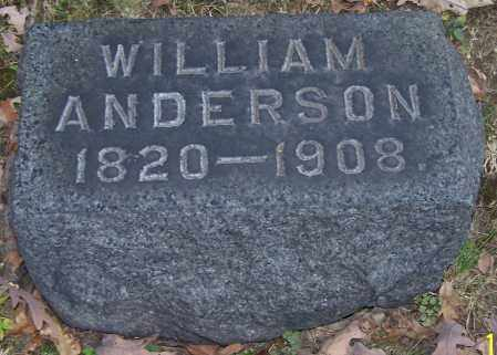 ANDERSON, WILLIAM - Stark County, Ohio | WILLIAM ANDERSON - Ohio Gravestone Photos