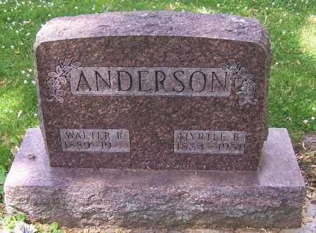 ANDERSON, MYRTLL B. - Stark County, Ohio | MYRTLL B. ANDERSON - Ohio Gravestone Photos