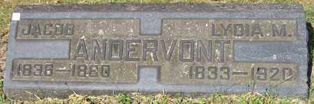 ANDERVONT, LYDIA M. - Stark County, Ohio | LYDIA M. ANDERVONT - Ohio Gravestone Photos