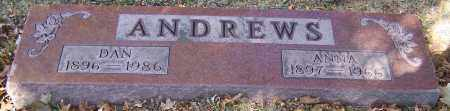 ANDREWS, ANNA - Stark County, Ohio | ANNA ANDREWS - Ohio Gravestone Photos