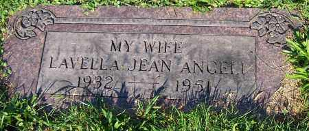 ANGELI, LAVELLA JEAN - Stark County, Ohio | LAVELLA JEAN ANGELI - Ohio Gravestone Photos