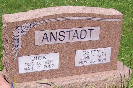 ANSTADT, DICK - Stark County, Ohio | DICK ANSTADT - Ohio Gravestone Photos