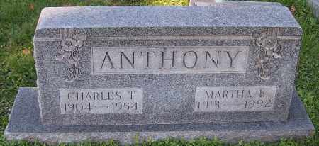 ANTHONY, MARTHA E. - Stark County, Ohio | MARTHA E. ANTHONY - Ohio Gravestone Photos