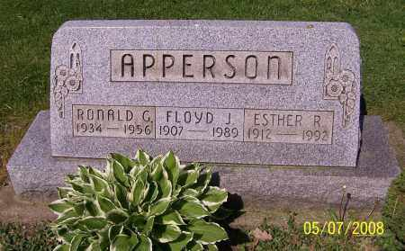 APPERSON, FLOYD J. - Stark County, Ohio | FLOYD J. APPERSON - Ohio Gravestone Photos