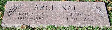 ARCHINAL, RANDALL L. - Stark County, Ohio | RANDALL L. ARCHINAL - Ohio Gravestone Photos