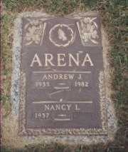 ARENA, ANDY - Stark County, Ohio | ANDY ARENA - Ohio Gravestone Photos