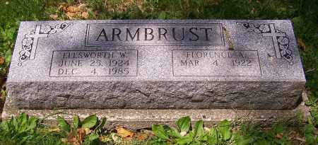 ARMBRUST, FLORENCE A. - Stark County, Ohio | FLORENCE A. ARMBRUST - Ohio Gravestone Photos