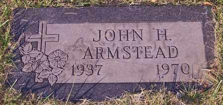ARMSTEAD, JOHN H. - Stark County, Ohio | JOHN H. ARMSTEAD - Ohio Gravestone Photos
