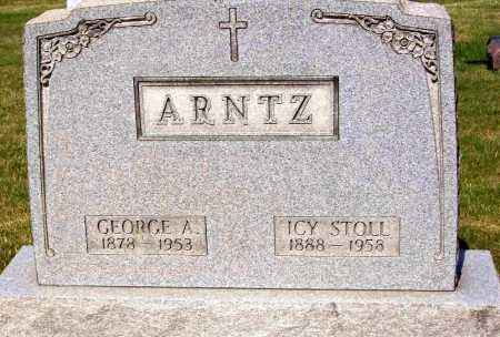 ARNTZ, GEORGE A. - Stark County, Ohio | GEORGE A. ARNTZ - Ohio Gravestone Photos