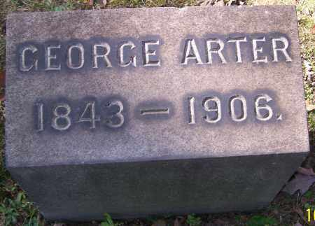 ARTER, GEORGE - Stark County, Ohio | GEORGE ARTER - Ohio Gravestone Photos