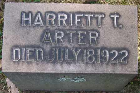 ARTER, HARRIETT T. - Stark County, Ohio | HARRIETT T. ARTER - Ohio Gravestone Photos