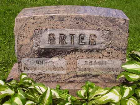 ARTER, NANNIE - Stark County, Ohio | NANNIE ARTER - Ohio Gravestone Photos