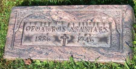ASANIDES, THEODOROS - Stark County, Ohio | THEODOROS ASANIDES - Ohio Gravestone Photos