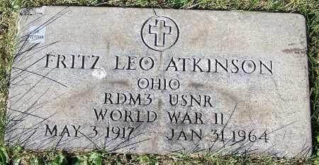 ATKINSON, FRITZ LEO - Stark County, Ohio | FRITZ LEO ATKINSON - Ohio Gravestone Photos