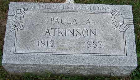ATKINSON, PAULA A. - Stark County, Ohio | PAULA A. ATKINSON - Ohio Gravestone Photos