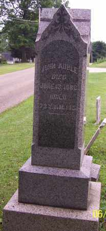 AUBLE, JOHN - Stark County, Ohio | JOHN AUBLE - Ohio Gravestone Photos