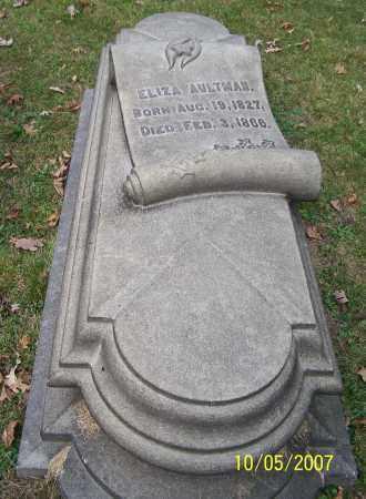 AULTMAN, ELIZA - Stark County, Ohio | ELIZA AULTMAN - Ohio Gravestone Photos