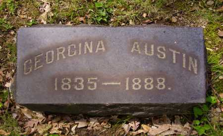 AUSTIN, GEORGINA - Stark County, Ohio | GEORGINA AUSTIN - Ohio Gravestone Photos
