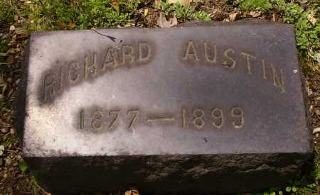 AUSTIN, RICHARD - Stark County, Ohio | RICHARD AUSTIN - Ohio Gravestone Photos