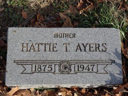 AYERS, HATTIE T. - Stark County, Ohio | HATTIE T. AYERS - Ohio Gravestone Photos