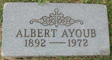 AYOUB, ALBERT - Stark County, Ohio | ALBERT AYOUB - Ohio Gravestone Photos
