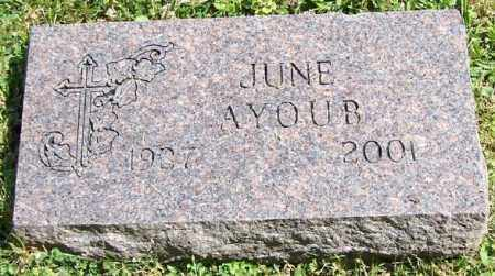 AYOUB, JUNE - Stark County, Ohio | JUNE AYOUB - Ohio Gravestone Photos
